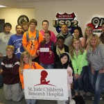 Norfolk DECA club presents check to US 92 for St. Judes Radiothon