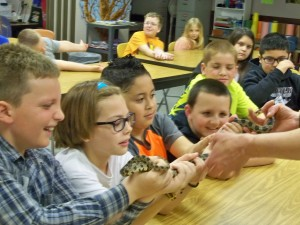 2016 May 4th grade trip to the capitol and snake lady 021