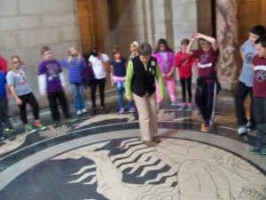 2016 May 4th grade trip to the capitol and snake lady 088